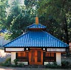 image of a small temple at the Mountain Of Attention sanctuary